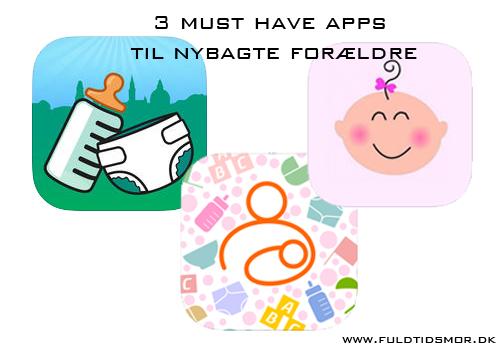 apps til nybagte forældre