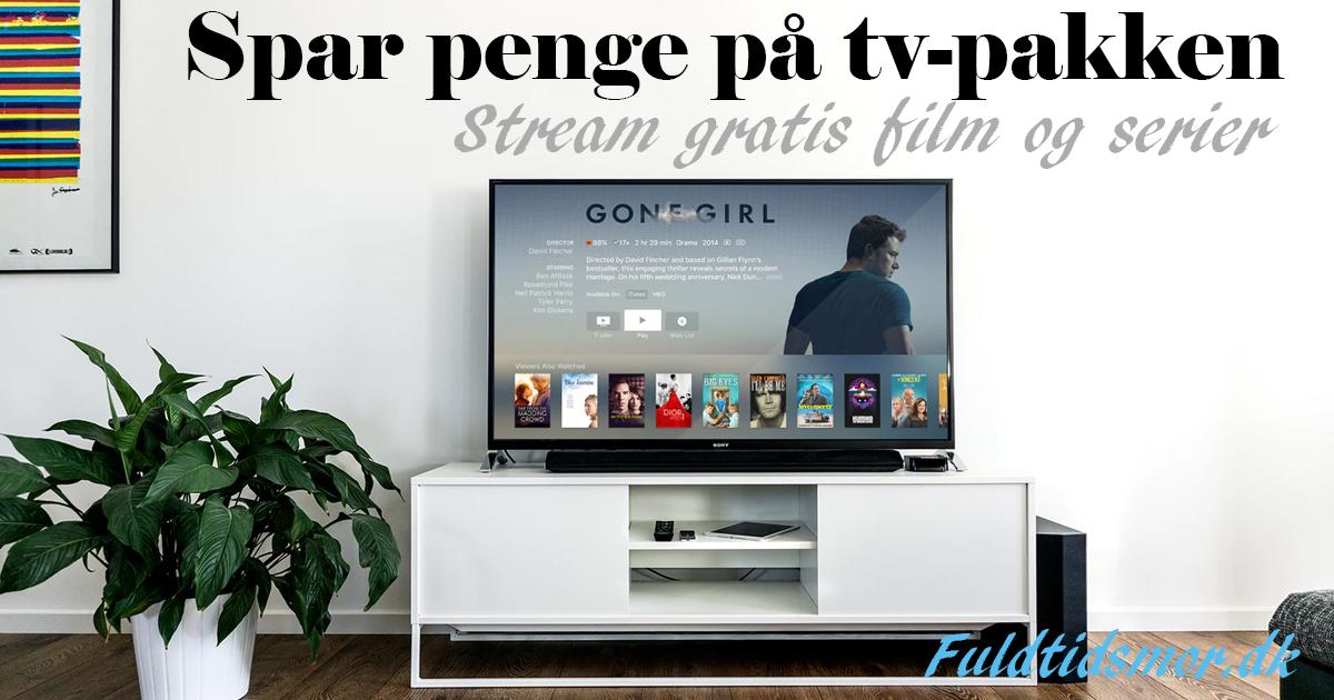 spar penge på tv