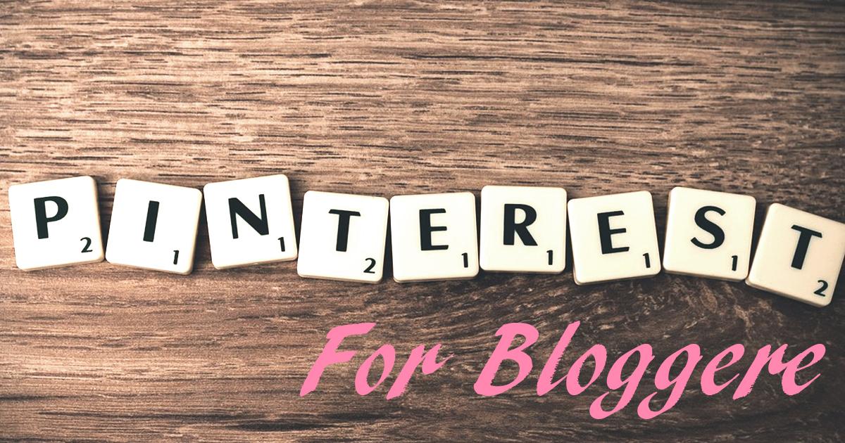 pinterest blogger